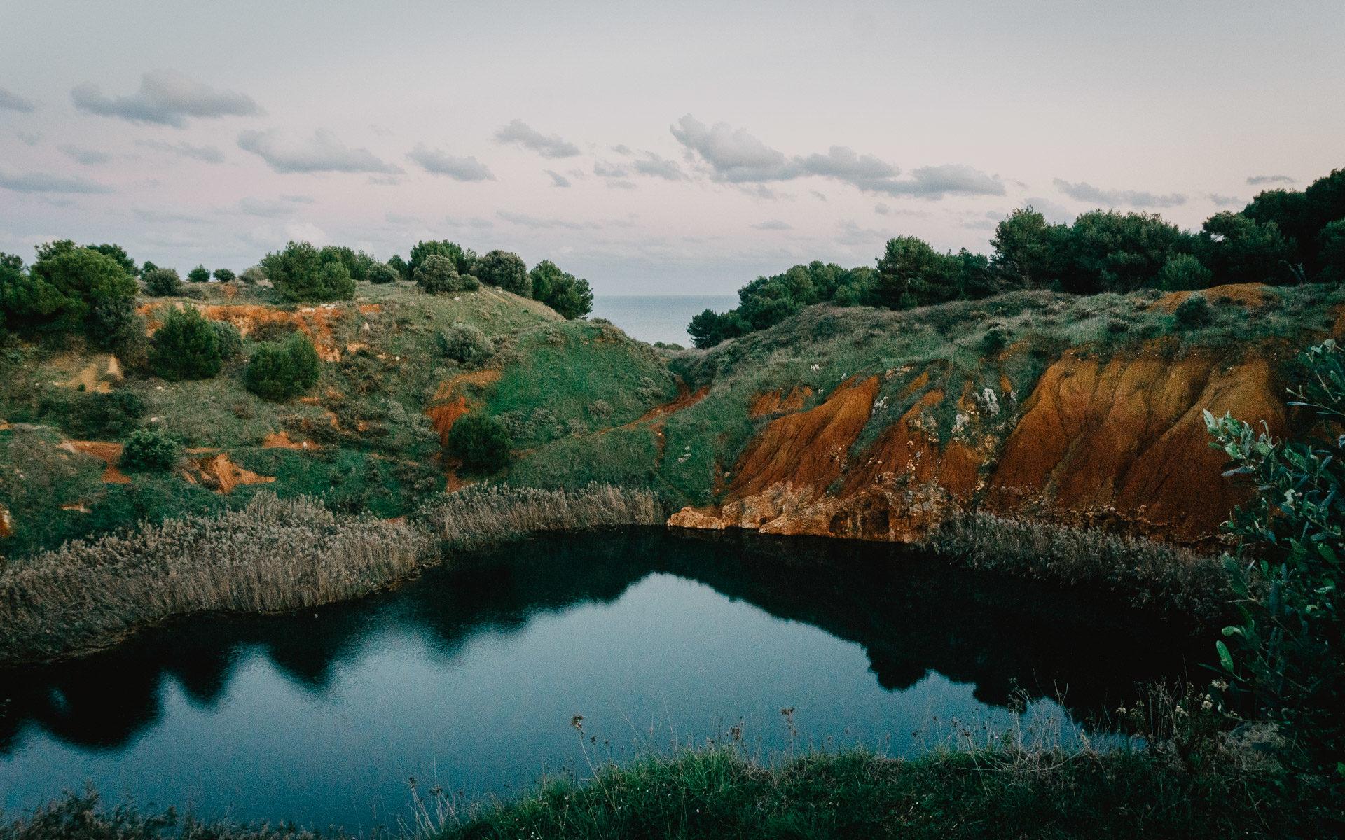 Cava di Bauxite Otranto, Salento